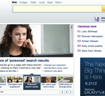 Meg Featured on Yahoo! Home Page